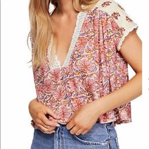 Cropped Free People top